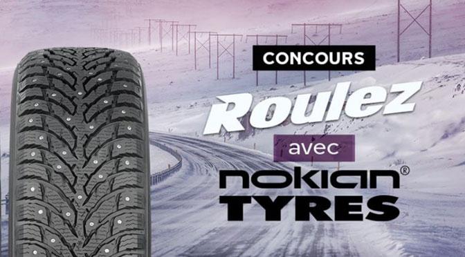 Concours Roulez avec Nokian Tyre