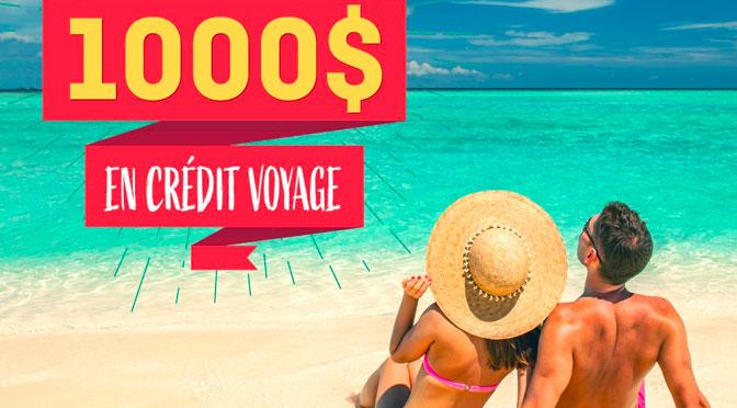 Concours Voyage 1000$