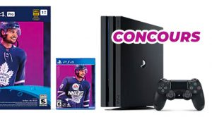 Concours Playstation 4 avec NHL 2020