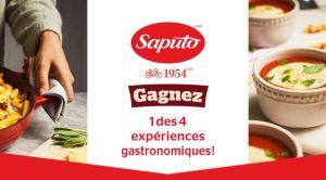 Concours Saputo Expériances Gastronomique