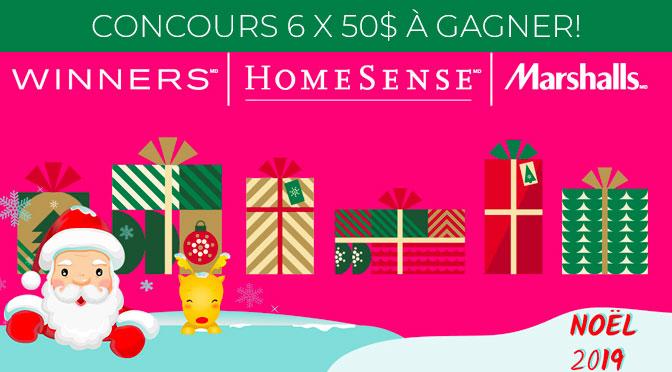 Concours Carte-cadeau WInners