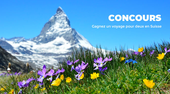 Concours Voyage en suisse A.Vogel