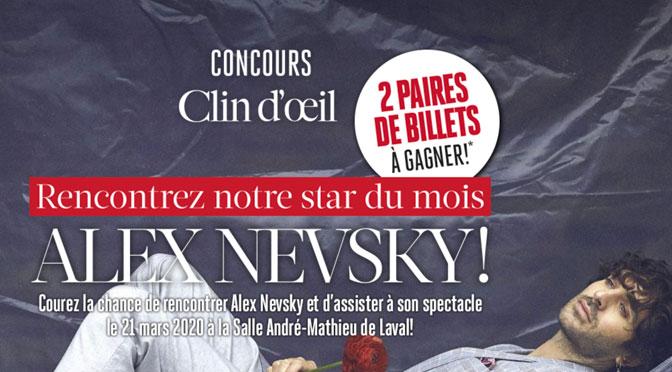Concours Alex Nevsky