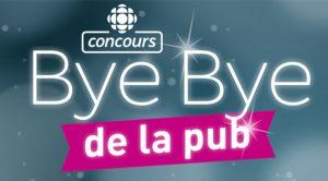 Concours Bye bye Pub 2019 2020
