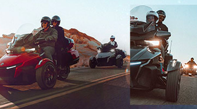Concours Can-Am Spyder
