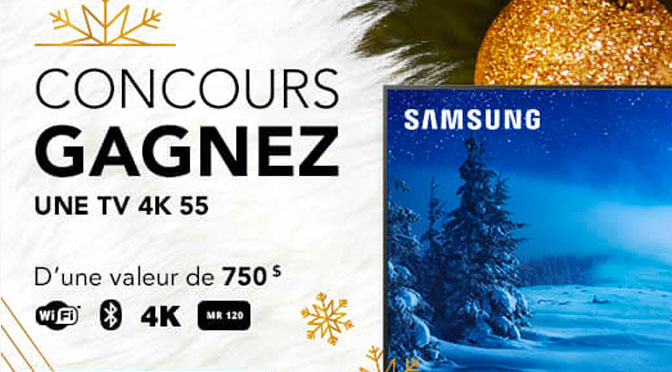 Concours TV Samsung 4K