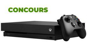 Cncours Xbox One X