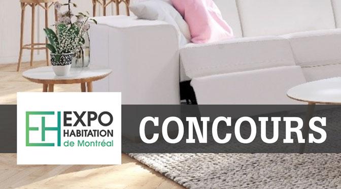 Concours Expo Habitation Montréal 2020
