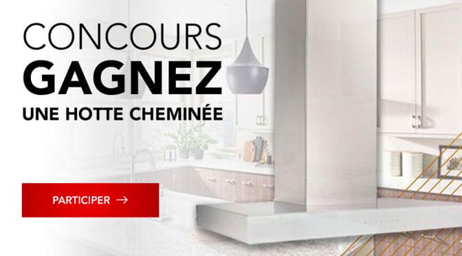 Concours Hotte Best avec Germain Larivière