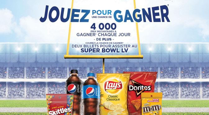 Concours jouez pour gagner super Bowl LV Couche-Tard