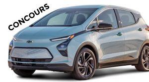 Concours Chevrolet Bolt Électrique