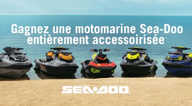 Concours Motomarine Sea-Doo à gagner BRP