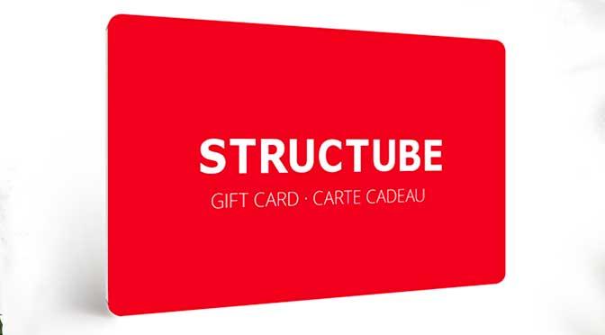 Carte cadeau Structube