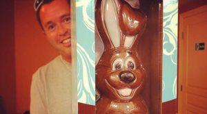 concours de Pâques Chocolat Lapin
