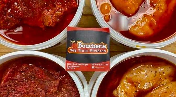 chaudière de viande de la boucherie des Trois-Rivières