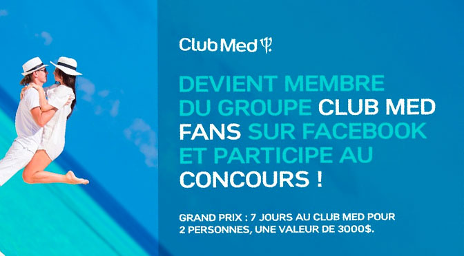 Concours Club Med Voyage