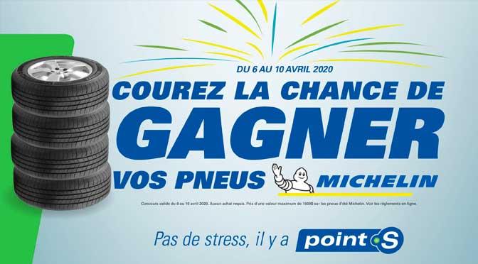 Concours Pneus d'été Michelin Point S