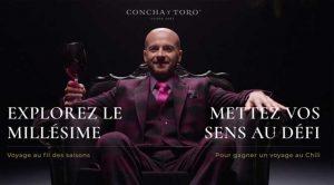Concours Voyage Chili Conchay Toro