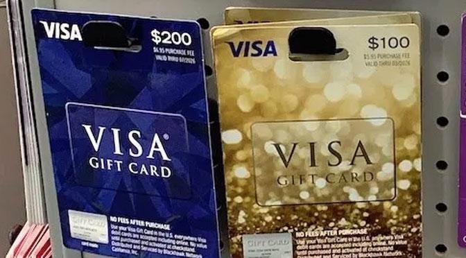 Concours Carte-cadeau Visa