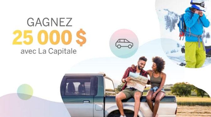 Concours La Capitale 25000 pour vos projets en 2021