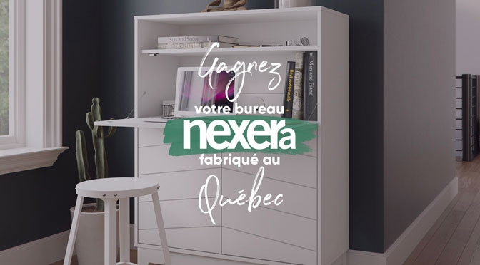 concours Nexera bureau fait au Quebec avec M2GO