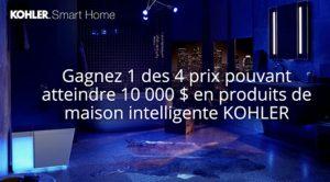 Concours Kohler maison intelligente