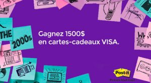 Concours Post-it 40 ans Hamster