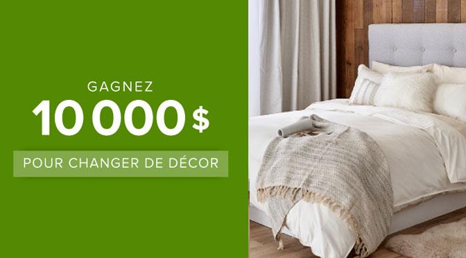 Concours 10000$ pour changer de décor Linen Chest