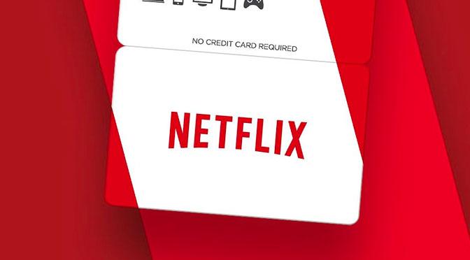 Concours carte-cadeau Netflix