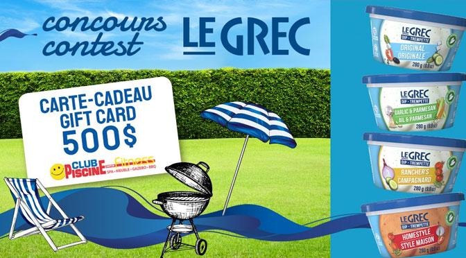 Concours Le Grec Club Piscine