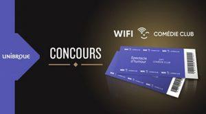 Concours wifi comedi Club