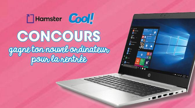 Concours ordinateur portable HP