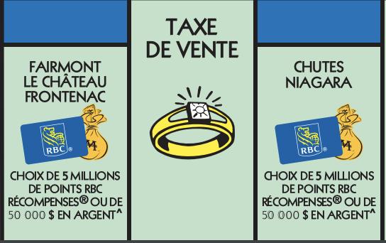 Vignette bleu Monopoly 2020