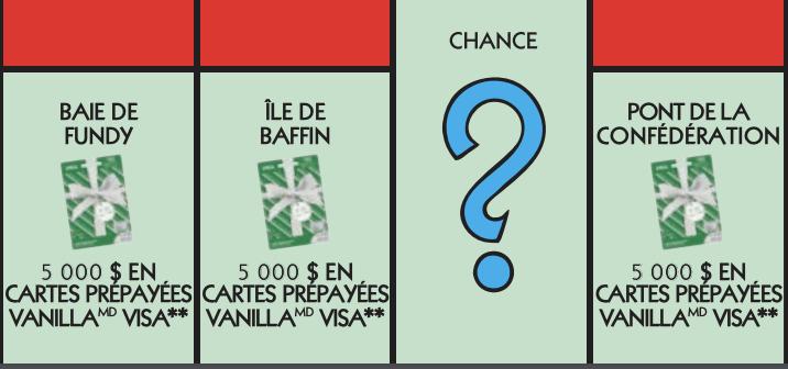 Vignette rouge Monopoly 2020