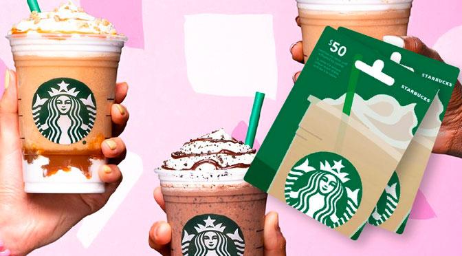Concours Starbuck Carte Cadeau