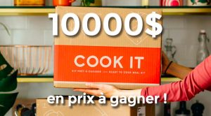 Concours Cook it 2020