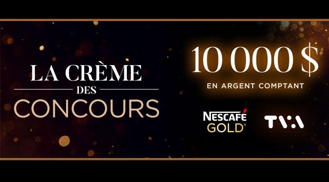 La crème des concours Star Académie 2021 TVA et Nescafé