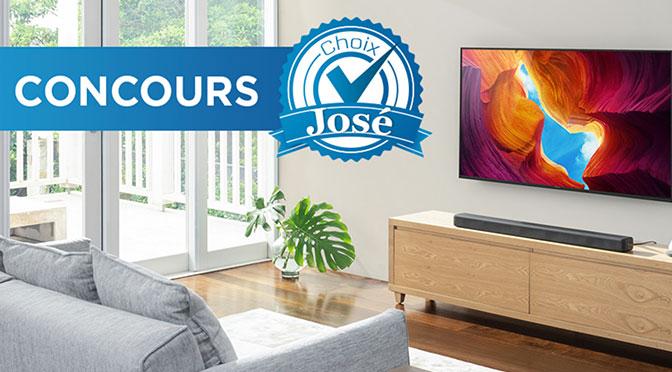 Concours TV Sony choix de José