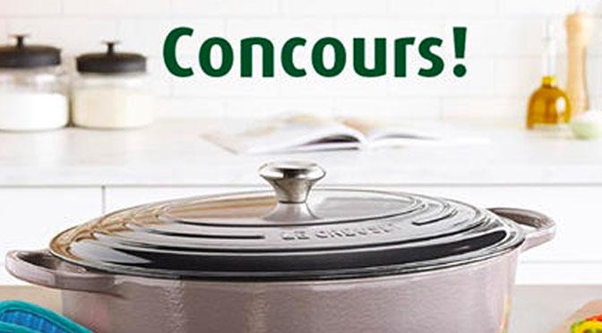 Concours Herbamare Cocotte le Creuset