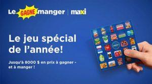Concours Maxi le Gagne Manger Maxi