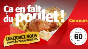 Concours Benny&Co. 1 an poulet