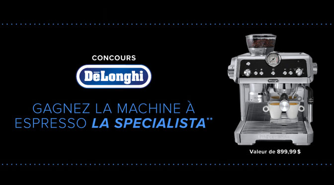 Concours Machine Espress La Specialita