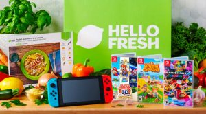 Concours HelloFresh concours Nintendo Switch