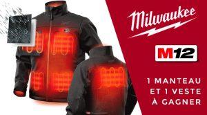 concours Manteau chauffant Milwaukee m12