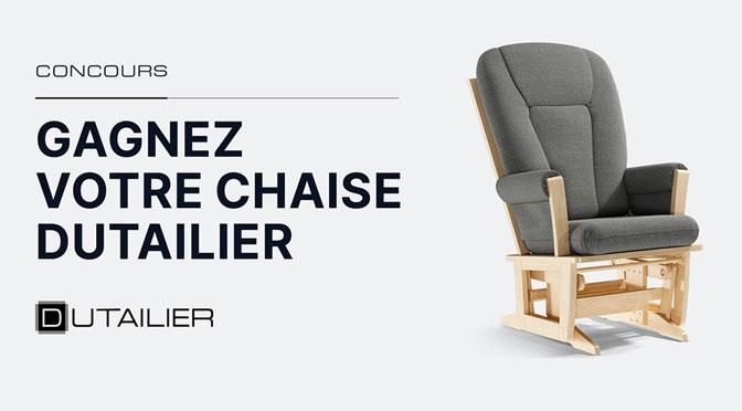concours dutailier Chaise en bois à gagner