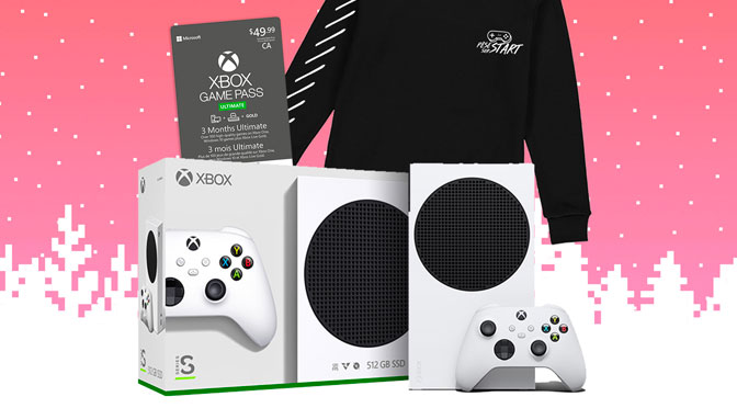 Concours Xbox Serie S + GamePass