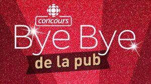 Concours Bye bye de la Pub 2020 - 2021