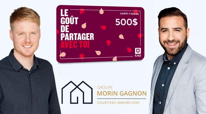 Concours SAQ 500$ Carte-cadeau