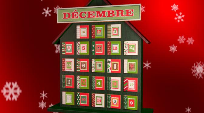 concours Calendrier de Noel Salut Bonjour!