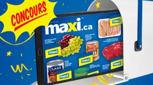 Concours Maxi une tablette à gagner